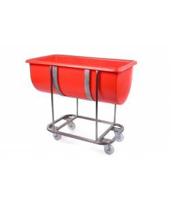 Plastic Trough with Stainless Steel Frame - 135 litre - rotoXF135