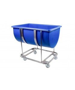 Plastic Trough with Stainless Steel Frame - 180 litres - rotoXF180