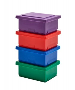 Plastic Stacking Container - rotoXB100