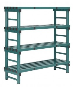 105435S - 4 Shelves - 1000W x 500D x 1380H mm