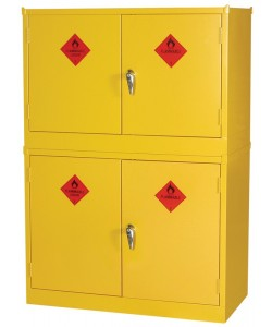 Stackable Hazardous Substance Cabinet Small - SKHSC2
