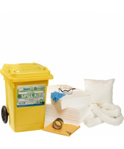 80 Litre Mobile Spill Kit - Oil & Fuel - SPK80F