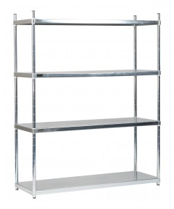 Four Solid Shelves - Medium - SS154517S