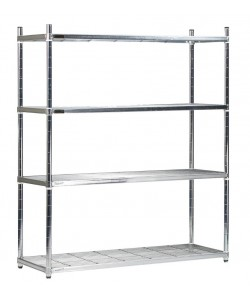 Five Wire Shelves - Medium - SS124522W