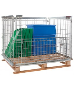 Stackable Retention Cage 1200 x 1000 x 1200 mm - SRC1212
