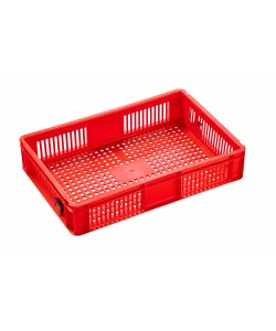 2A022 Red Plastic Stacking Containers