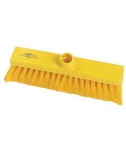 Yellow Sweeping Broom 280mm Soft Bristled - B1731