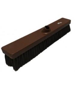 Brown Sweeping Broom 457mm Medium Bristled - B809
