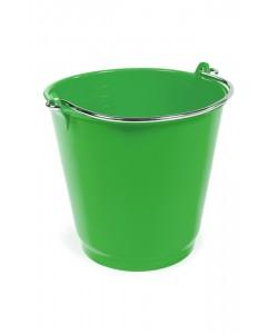 RM2B Green 9 Litre Plastic Bucket