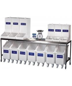 Bac de stockage d'ingrédients de 150 litres - rotoXID20