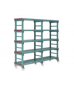 155535M - 5 Shelves - 1500W x 500D x 1830H mm