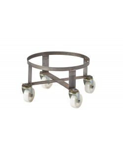 Stainless Steel Circular Dolly - rotoXD15SS