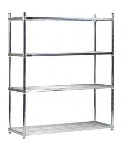 Five Wire Shelves - Medium - SS124522W
