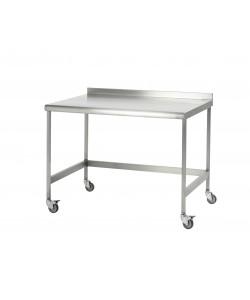 Table en acier inoxydable - Sur mesure