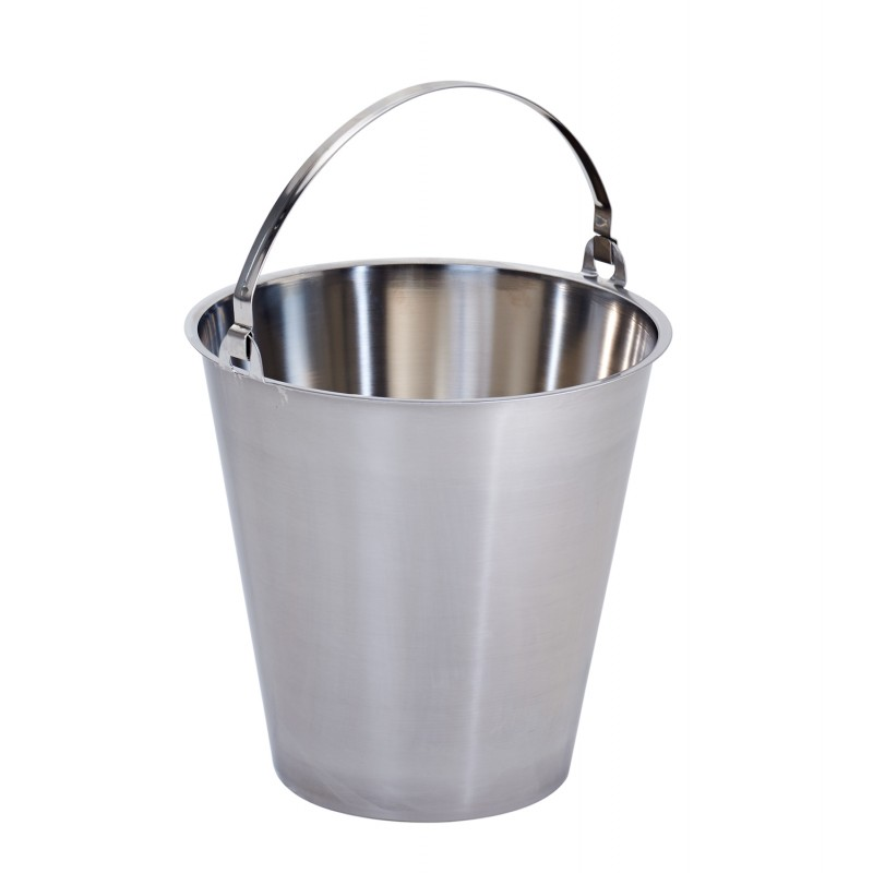 Stainless Steel Bucket 15 Litres - MBK15