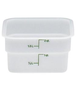 Polyethylene Food Container 1.9 Litre - 2SFSP