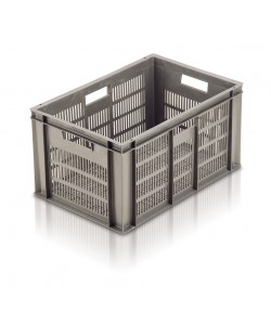 Ventilated Euro Stacking Container 600x400x319mm - 21064