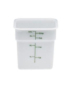 Polyethylene Food Container 3.8 Litre - 4SFSP