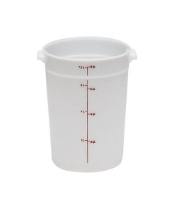 Polyethylene Round Food Container 7.6 Litre - RFS8