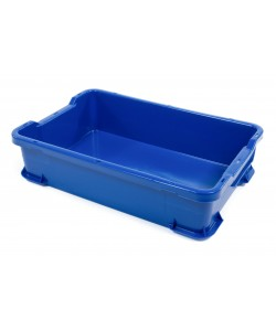 Hygienic Stacking Container 600x400x145mm - UB904