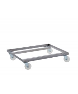 Stainless Steel Double Dolly - BALEDDSS