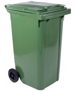 Fahrbarer Müllbehälter 240 Liter - CR240GB