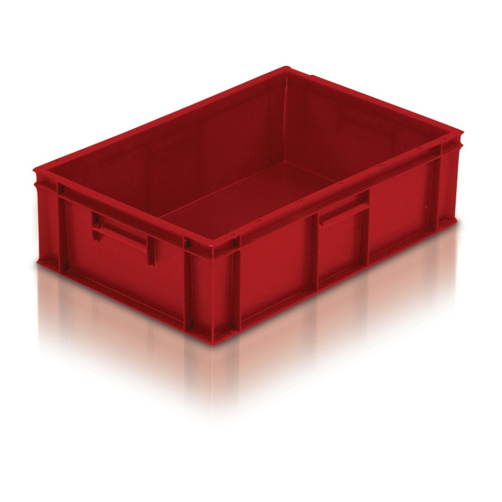 21033 Red Euro Stacking Containers