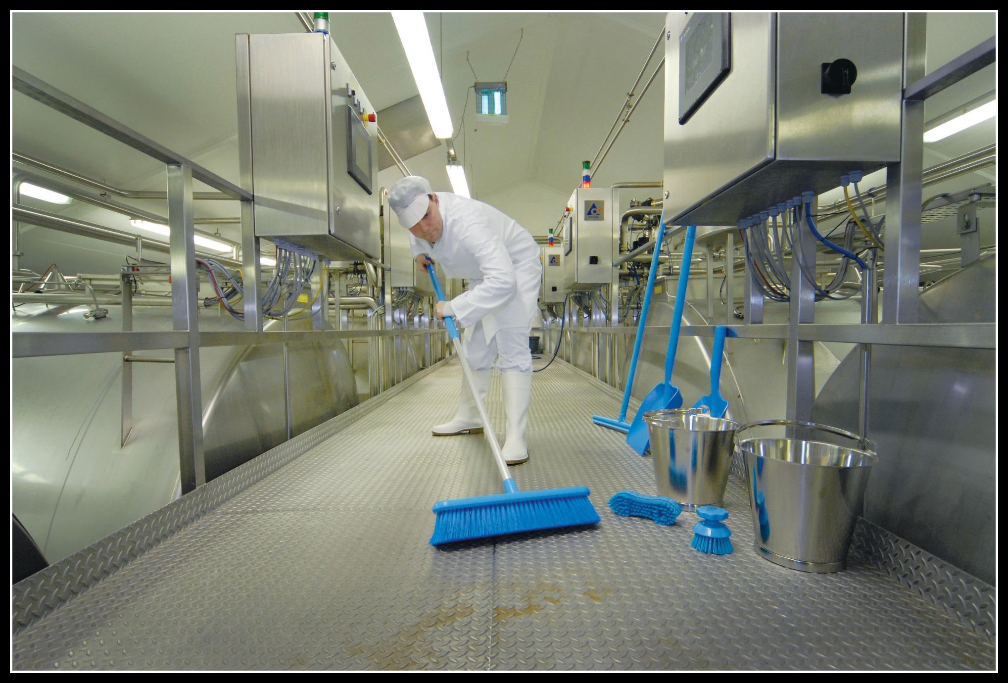 Blue hygiene equipment