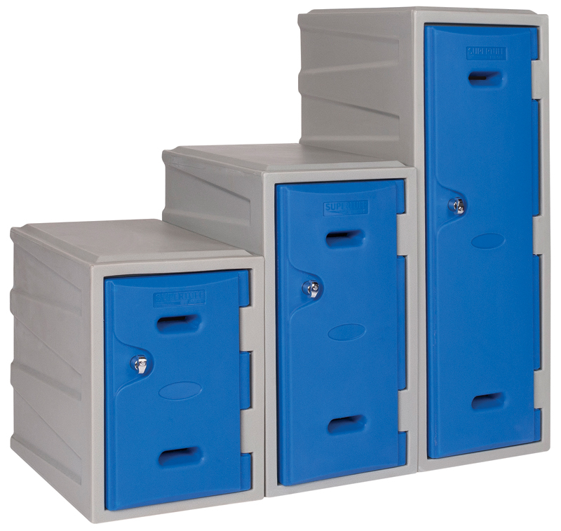 Plastic Lockers Range