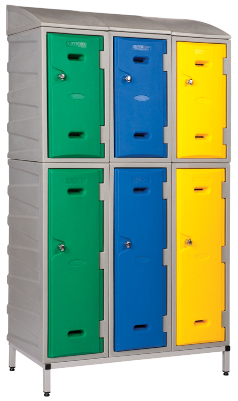 Plastic Lockers with Stand
